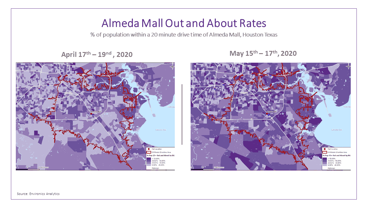 almeda-mall-texas-out-and-about-drivetime-map