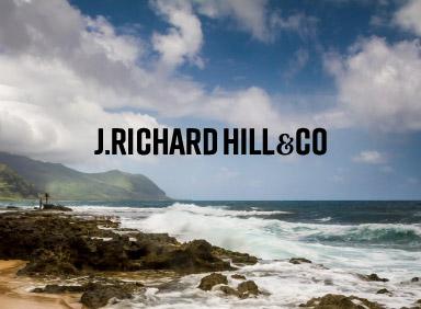 Category header for J Richard Hill case study