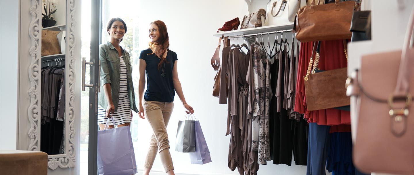 Retail stores attracting millennial women shoppers