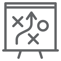 Icon-Easel-Depicting-Navigation-Symbols