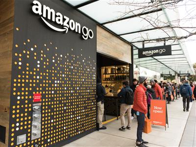 Amazon Go store among trend of e-commerce brands moving to retail stores