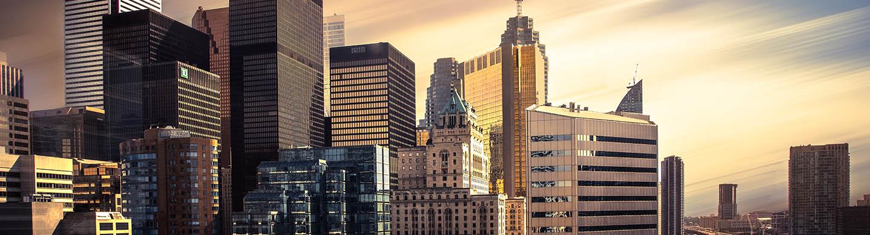 Skyline of Toronto Commercial Real Estate Market