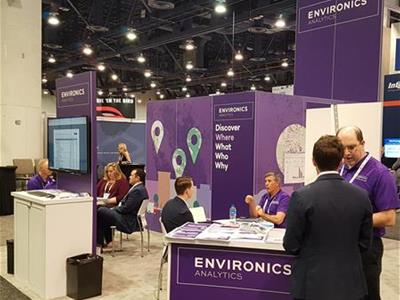 Environics Analytics team at the ICSC ReCon conference