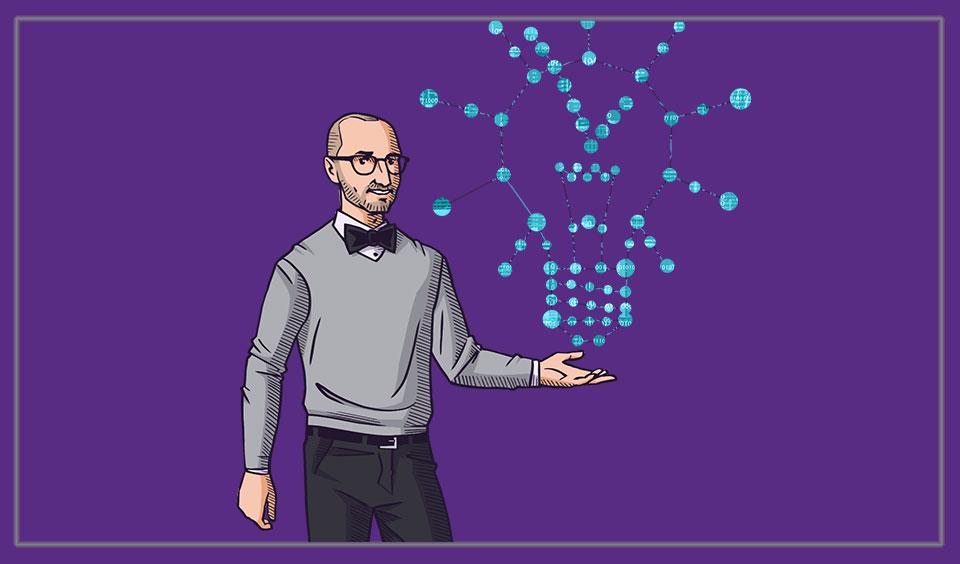 Environics Analytics' Geek showing data points
