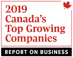 Globe and Mail - Top Growing Companies