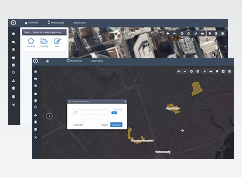 MobileScapes-ENVISION-software-interface