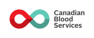Logo for the Canadian Blood Services Healthcare Organization