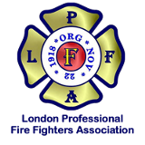 Logo for the London Ontario Fire Fighters Association - Testimonials