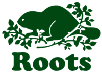 Logo for Roots retail stores